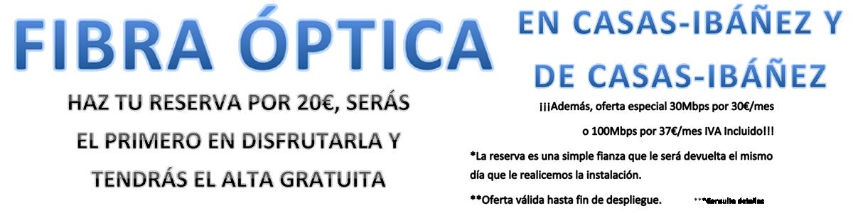 Fibra Optica Casas Ibañez